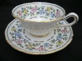 Grosvenor China cabinet style cup & saucer